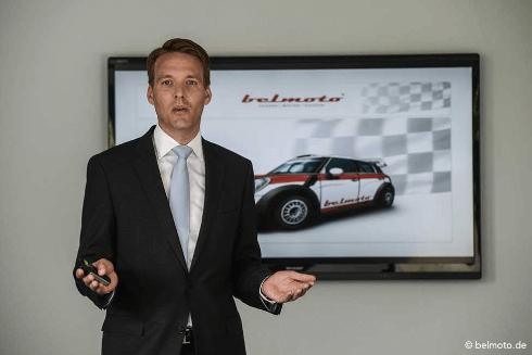 Belmoto Firmengründer Philip Kneissler