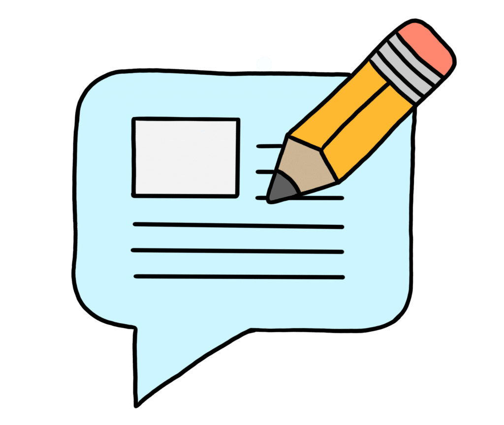 Blogeinträge, Texte