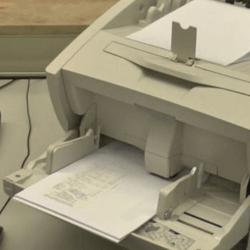 Dokumentenscanner beim Scan-Dienstleister in Aktion