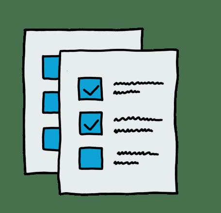 Scannen und automatische Auswertung von Fragebögen